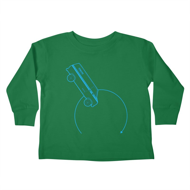 Hawkins Power & Light Kids Toddler Longsleeve T-Shirt by mckibillo's Artist Shop