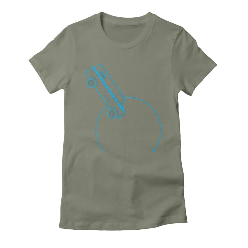 Hawkins Power & Light Women's Fitted T-Shirt by mckibillo's Artist Shop