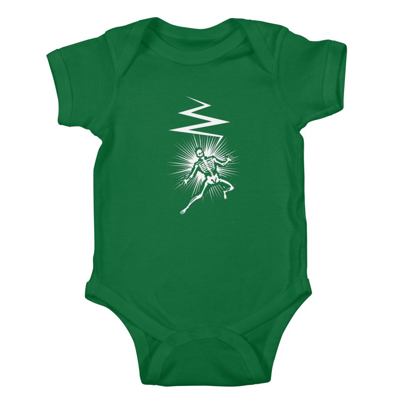 Zap! Kids Baby Bodysuit by mckibillo's Artist Shop