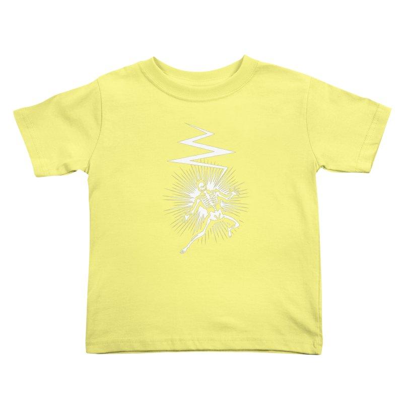 Zap! Kids Toddler T-Shirt by mckibillo's Artist Shop
