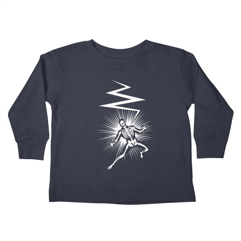 Zap! Kids Toddler Longsleeve T-Shirt by mckibillo's Artist Shop