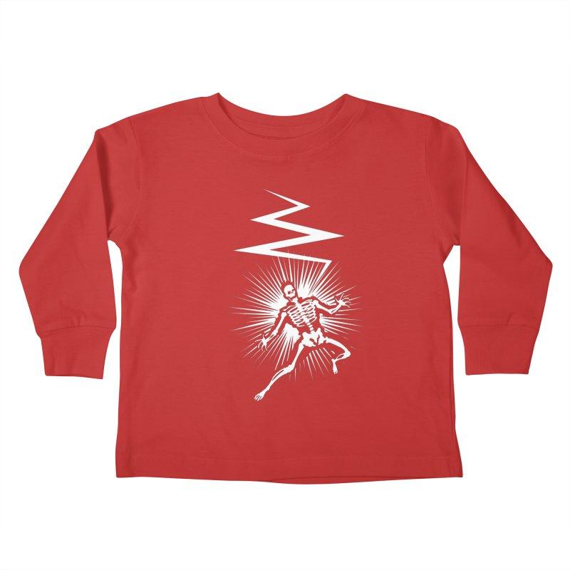 Zap! Kids Toddler Longsleeve T-Shirt by mckibillo's Artist Shop