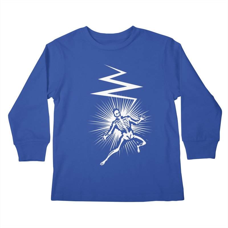 Zap! Kids Longsleeve T-Shirt by mckibillo's Artist Shop