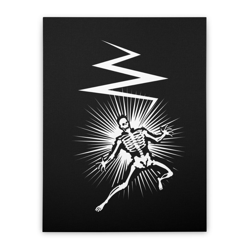 Zap! Home Stretched Canvas by mckibillo's Artist Shop