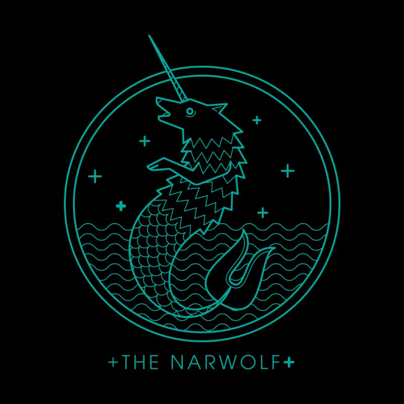 The Narwolf Women's Longsleeve T-Shirt by mckibillo's Artist Shop