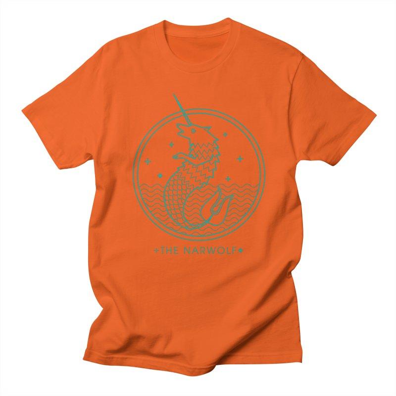 The Narwolf Men's T-Shirt by mckibillo's Artist Shop