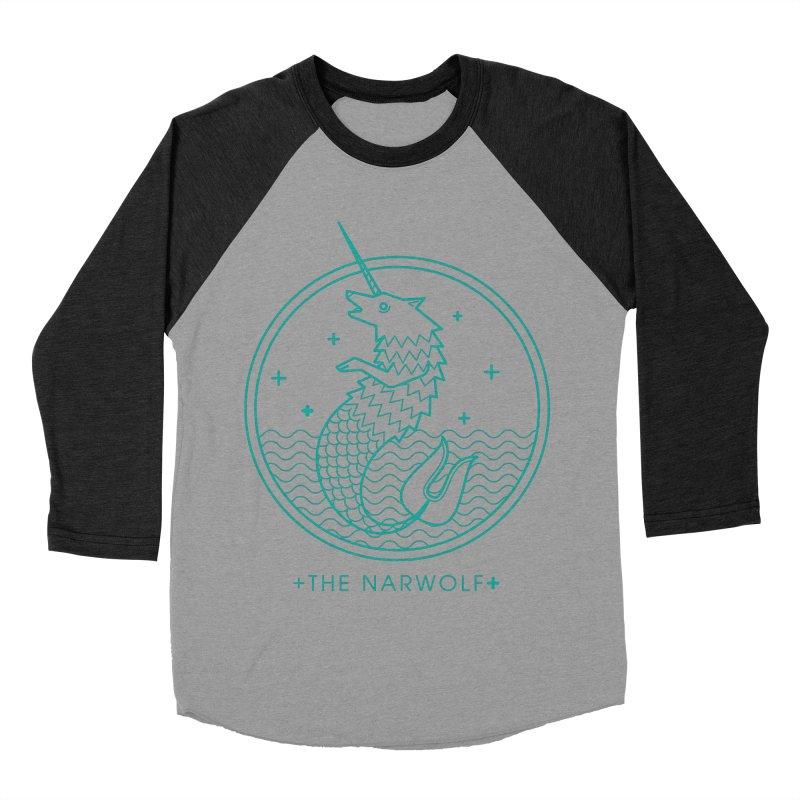 The Narwolf Women's Baseball Triblend Longsleeve T-Shirt by mckibillo's Artist Shop