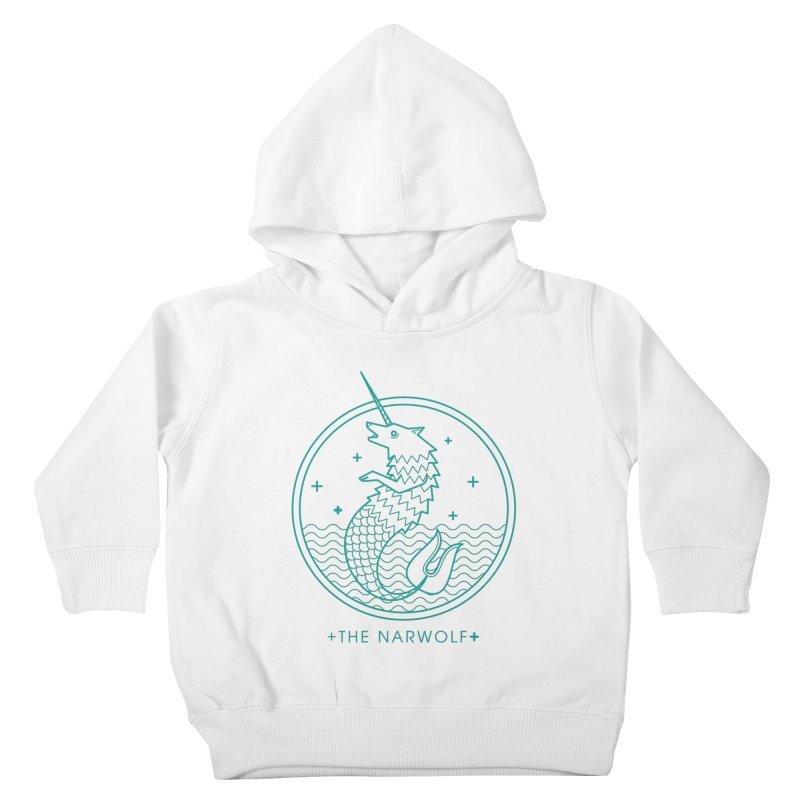 The Narwolf Kids Toddler Pullover Hoody by mckibillo's Artist Shop