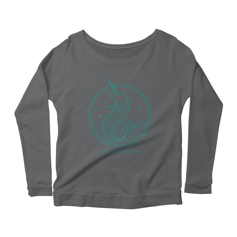 The Narwolf Women's Longsleeve T-Shirt by mckibillo's Artist Shop