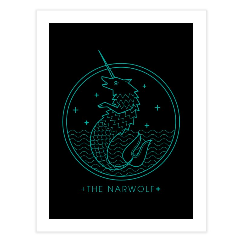 The Narwolf Home Fine Art Print by mckibillo's Artist Shop