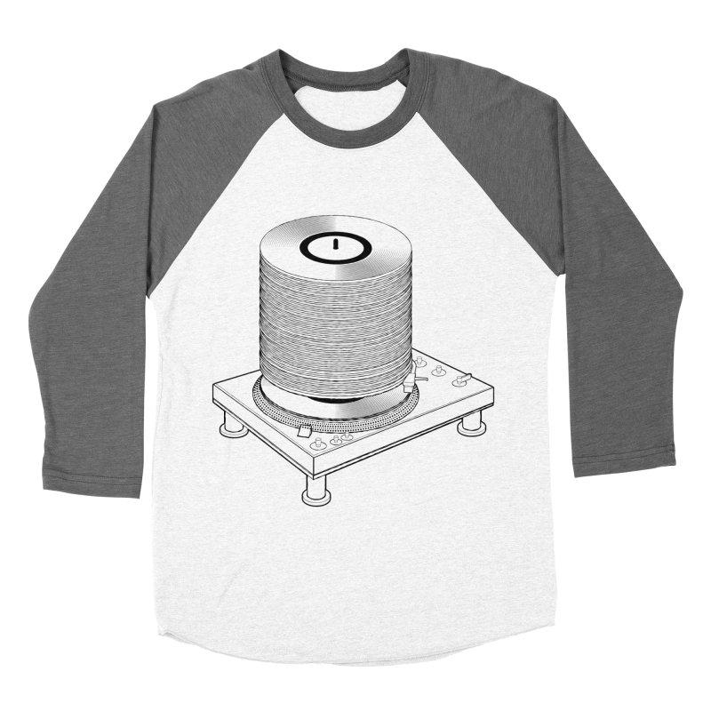 Fat Stack Women's Longsleeve T-Shirt by mckibillo's Artist Shop