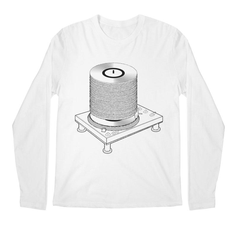 Fat Stack Men's Regular Longsleeve T-Shirt by mckibillo's Artist Shop