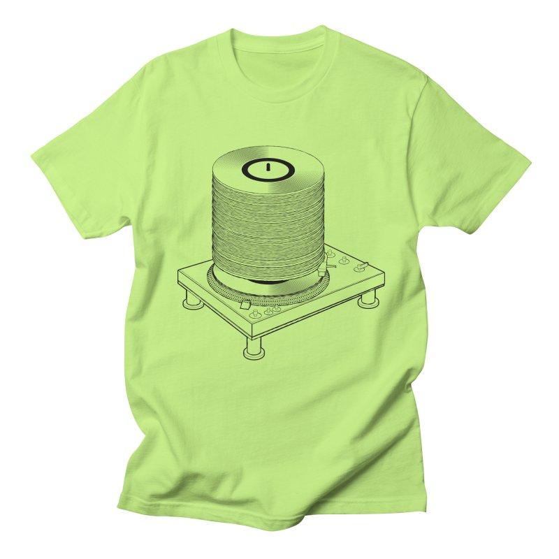 Fat Stack Men's T-Shirt by mckibillo's Artist Shop