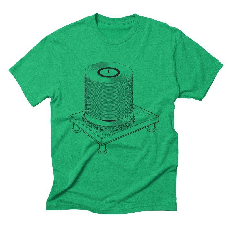 Fat Stack Men's Triblend T-Shirt by mckibillo's Artist Shop