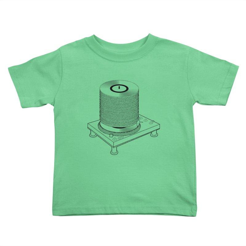 Fat Stack Kids Toddler T-Shirt by mckibillo's Artist Shop