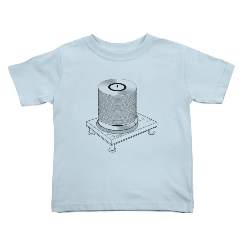 Fat Stack Kids Toddler T-Shirt by mckibillo's Artist Shop
