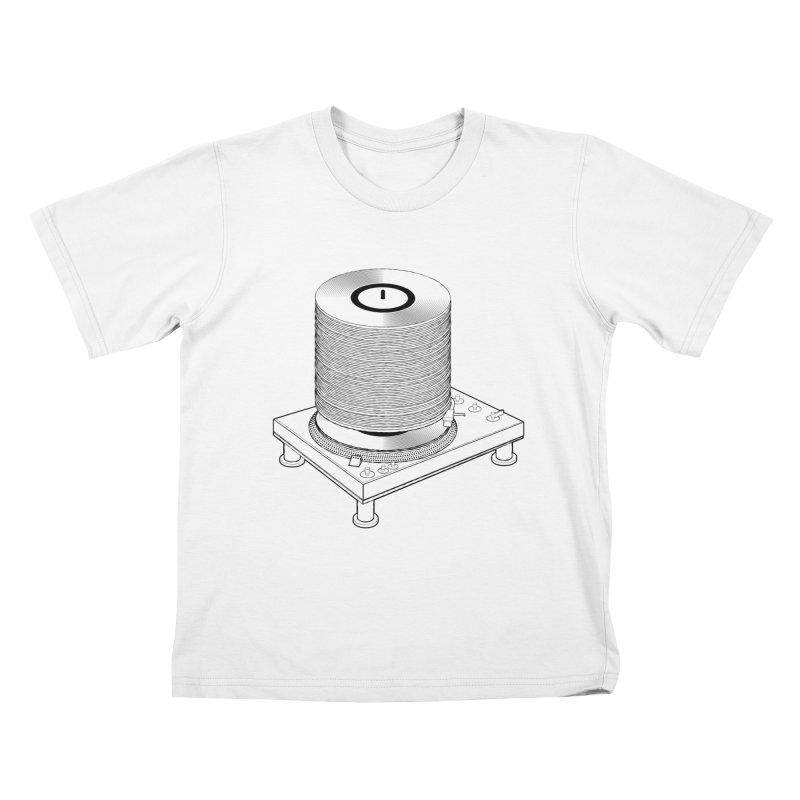 Fat Stack Kids T-Shirt by mckibillo's Artist Shop