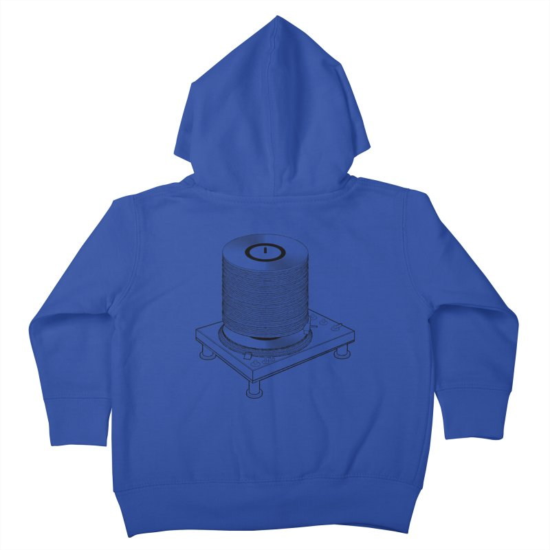 Fat Stack Kids Toddler Zip-Up Hoody by mckibillo's Artist Shop