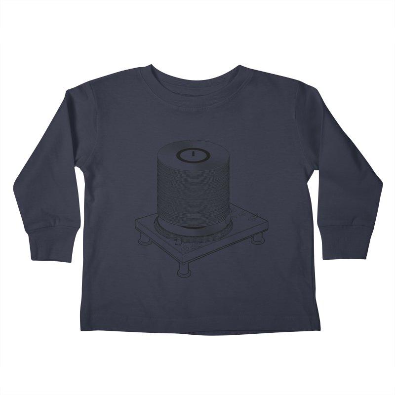 Fat Stack Kids Toddler Longsleeve T-Shirt by mckibillo's Artist Shop