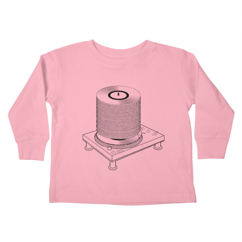 Fat Stack Kids Toddler Longsleeve T-Shirt by mckibillo's Artist Shop