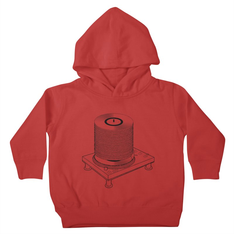 Fat Stack Kids Toddler Pullover Hoody by mckibillo's Artist Shop