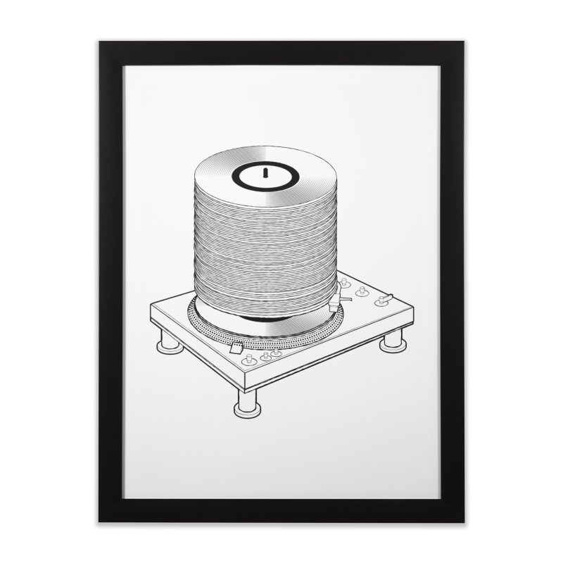 Fat Stack Home Framed Fine Art Print by mckibillo's Artist Shop