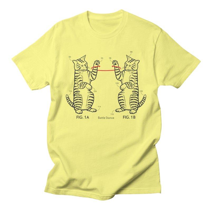 Battle Stance Men's T-Shirt by mckibillo's Artist Shop