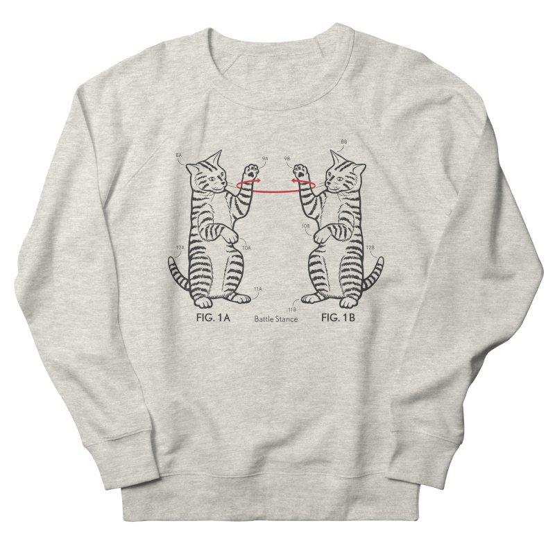 Battle Stance Men's Sweatshirt by mckibillo's Artist Shop