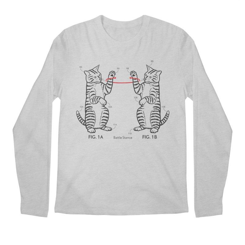 Battle Stance Men's Regular Longsleeve T-Shirt by mckibillo's Artist Shop