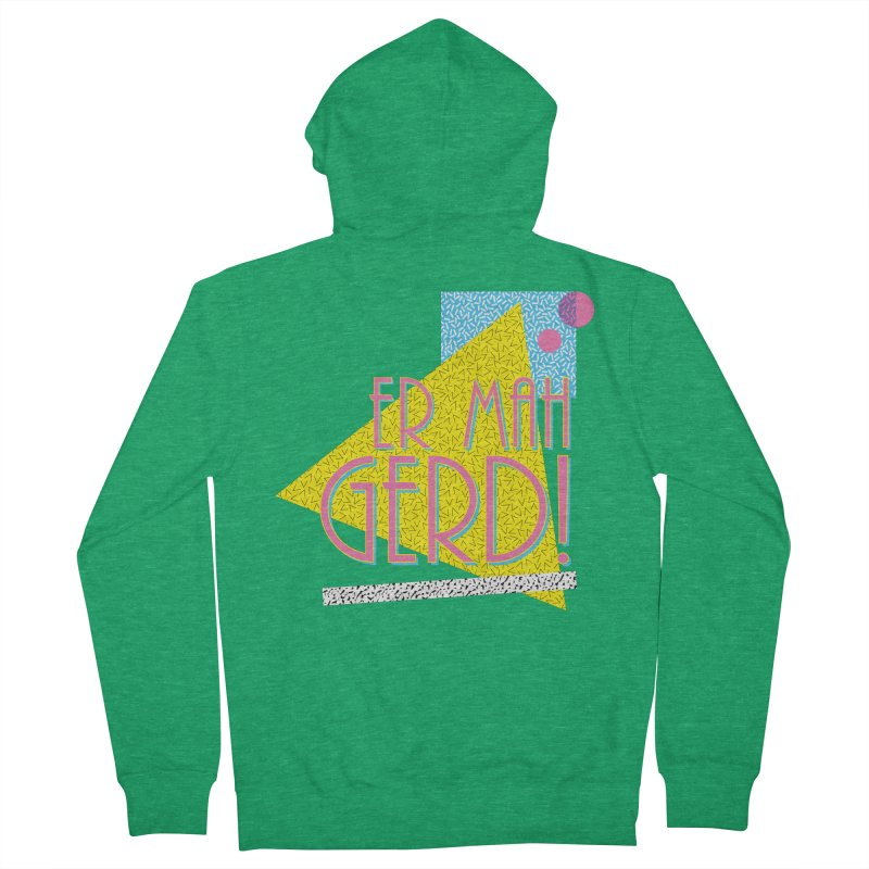 ERMAHGERD! Men's Zip-Up Hoody by mckibillo's Artist Shop