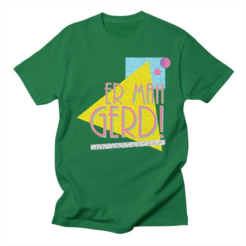 ERMAHGERD! Men's Regular T-Shirt by mckibillo's Artist Shop