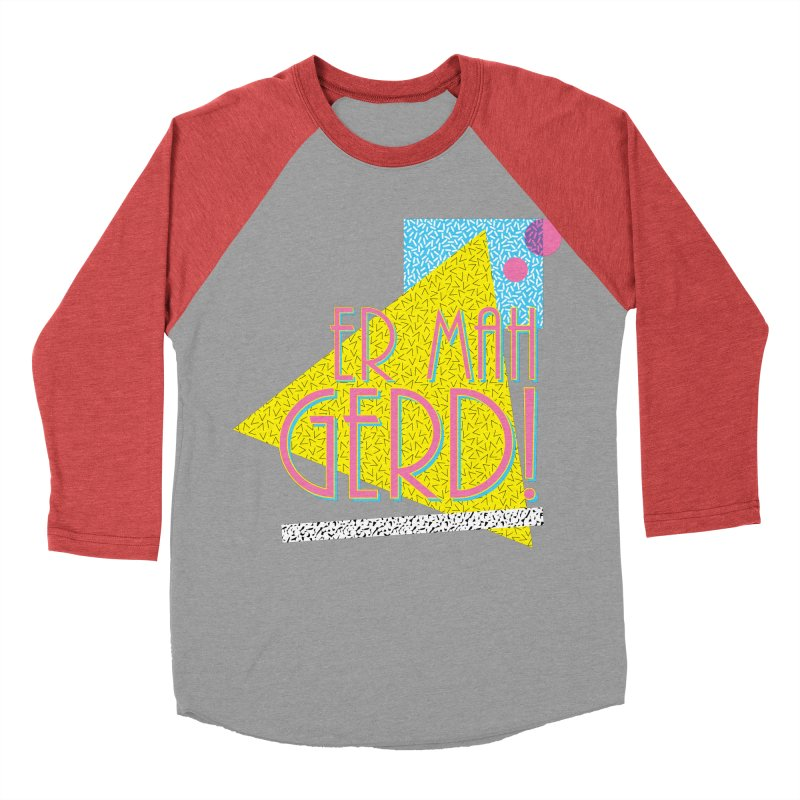 ERMAHGERD! Men's Baseball Triblend Longsleeve T-Shirt by mckibillo's Artist Shop