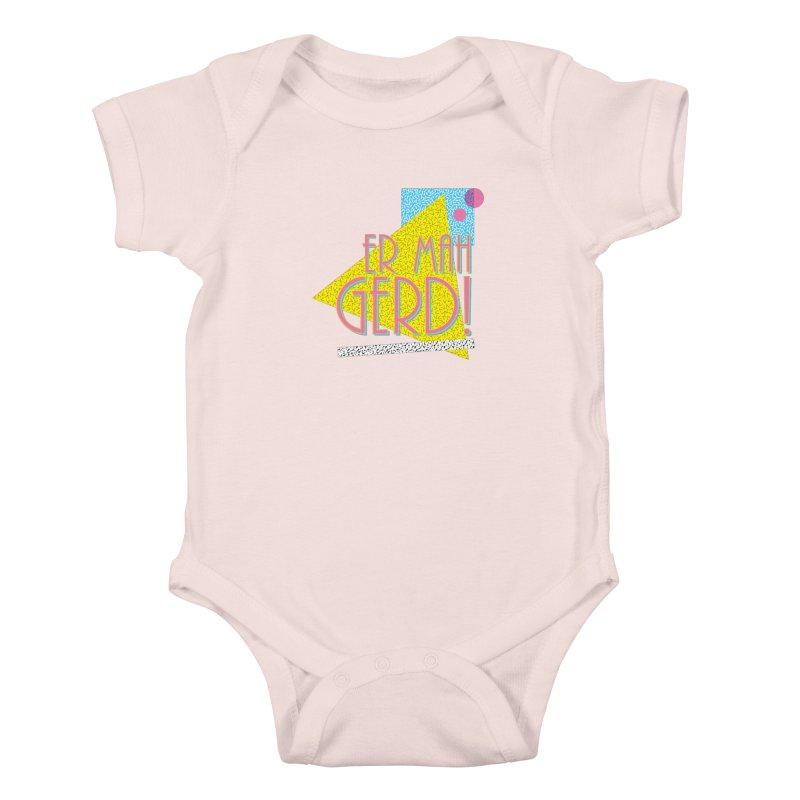 ERMAHGERD! Kids Baby Bodysuit by mckibillo's Artist Shop