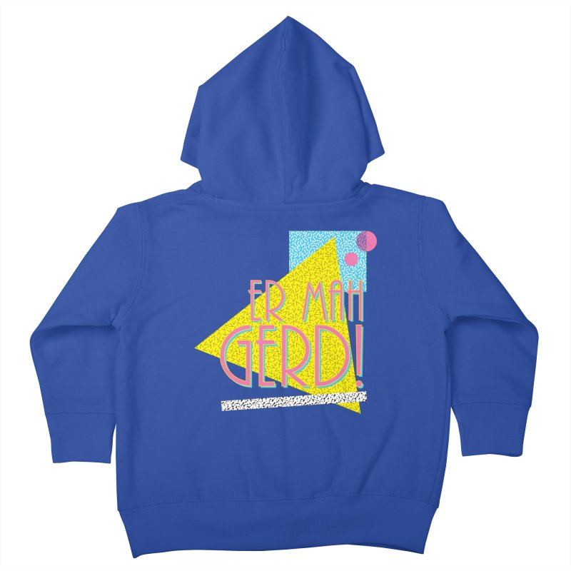 ERMAHGERD! Kids Toddler Zip-Up Hoody by mckibillo's Artist Shop