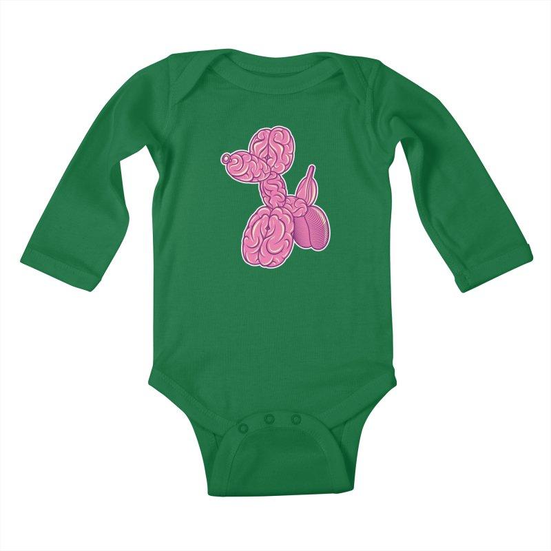 Pretty Twisted Kids Baby Longsleeve Bodysuit by mckibillo's Artist Shop