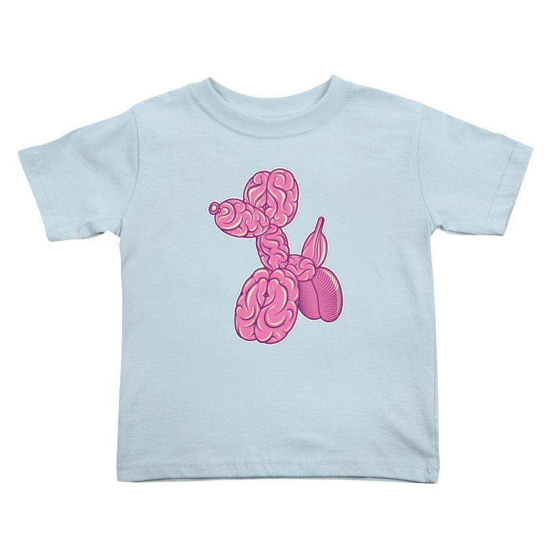 Pretty Twisted Kids Toddler T-Shirt by mckibillo's Artist Shop