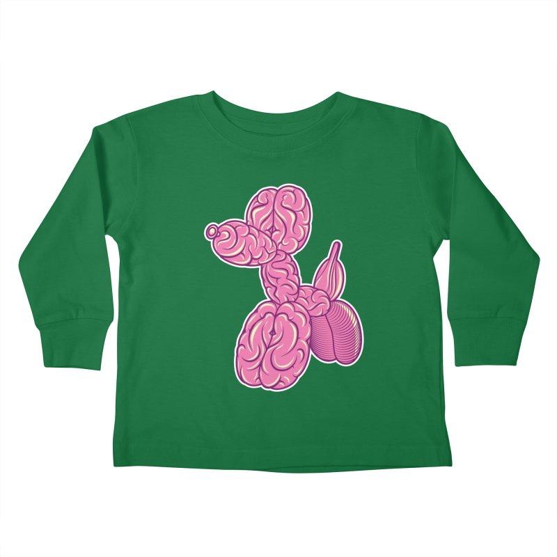 Pretty Twisted Kids Toddler Longsleeve T-Shirt by mckibillo's Artist Shop