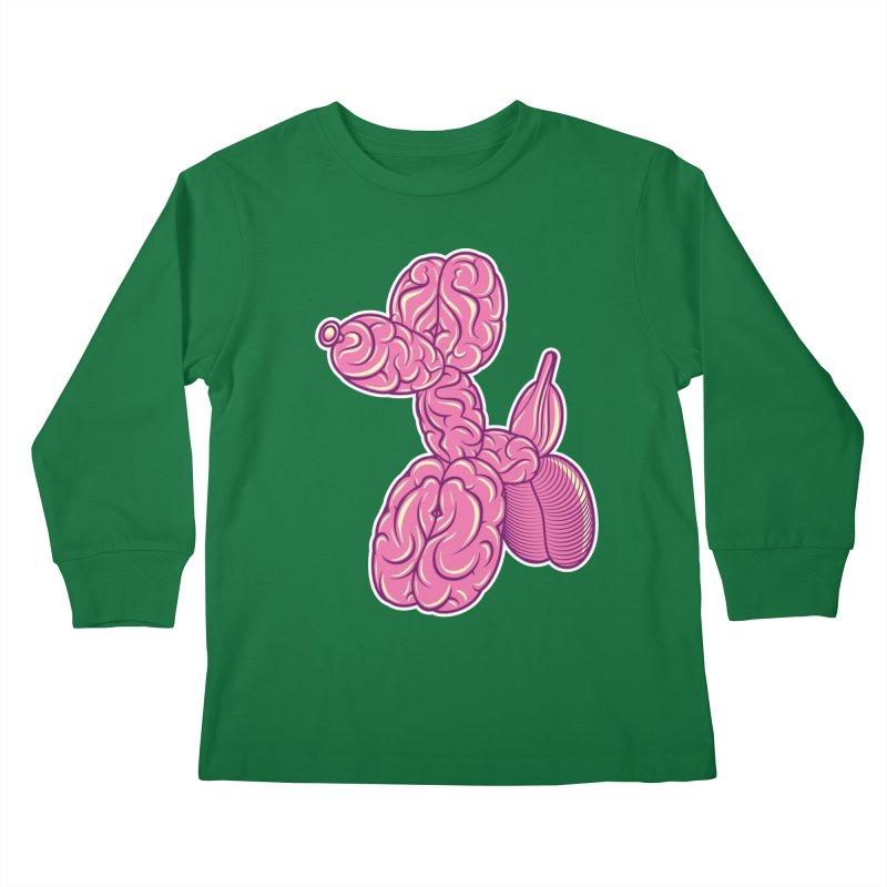 Pretty Twisted Kids Longsleeve T-Shirt by mckibillo's Artist Shop