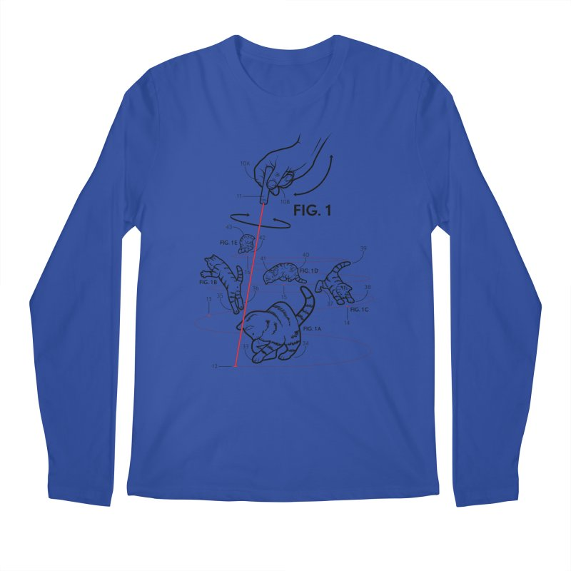LazerCats! lite Men's Longsleeve T-Shirt by mckibillo's Artist Shop