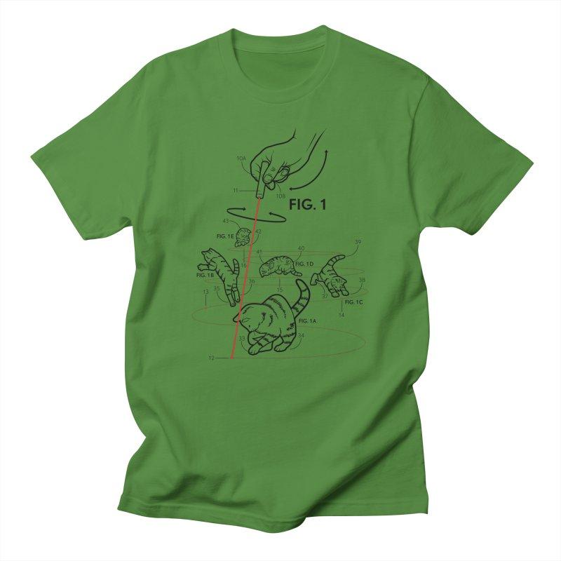 LazerCats! lite Men's T-Shirt by mckibillo's Artist Shop
