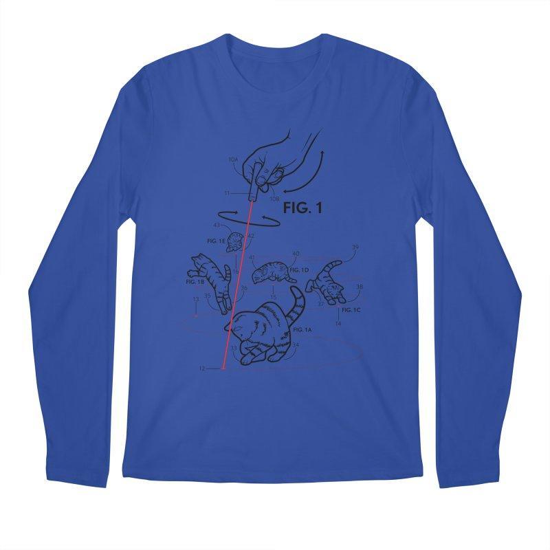 LazerCats! lite Men's Longsleeve T-Shirt by mckibillo's Artist Shop