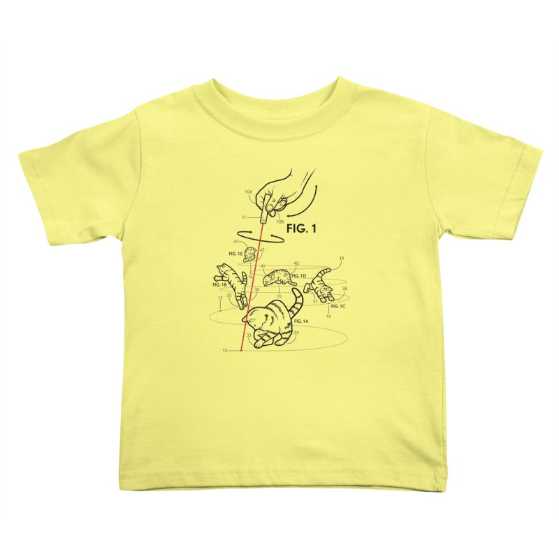 LazerCats! lite Kids Toddler T-Shirt by mckibillo's Artist Shop