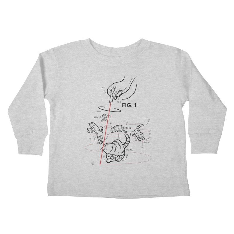 LazerCats! lite Kids Toddler Longsleeve T-Shirt by mckibillo's Artist Shop