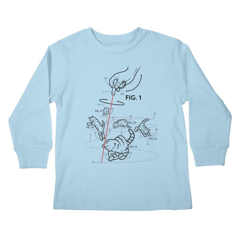 LazerCats! lite Kids Longsleeve T-Shirt by mckibillo's Artist Shop