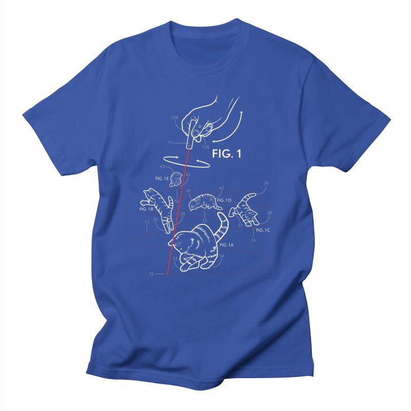 LazerCats! dark Men's T-Shirt by mckibillo's Artist Shop