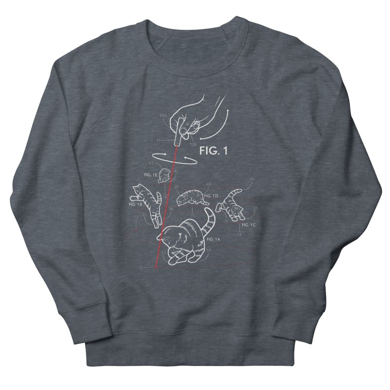 LazerCats! dark Men's Sweatshirt by mckibillo's Artist Shop