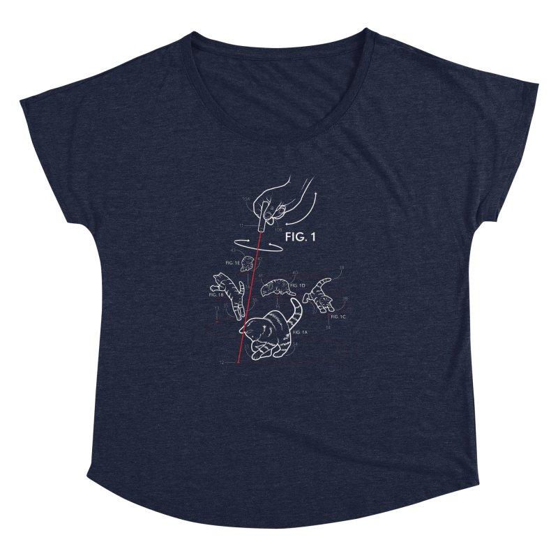 LazerCats! dark Women's Dolman by mckibillo's Artist Shop