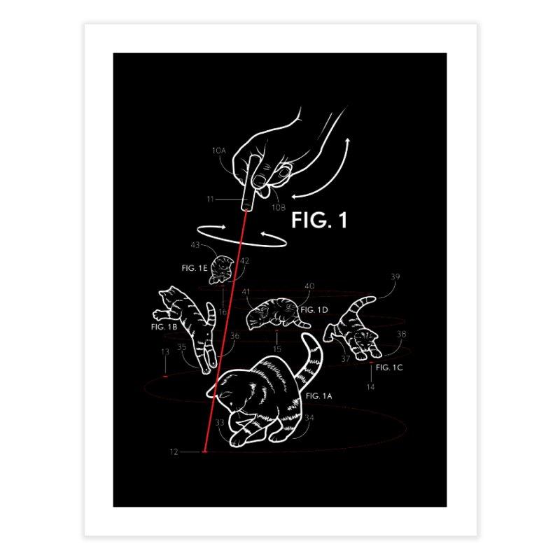 LazerCats! dark Home Fine Art Print by mckibillo's Artist Shop