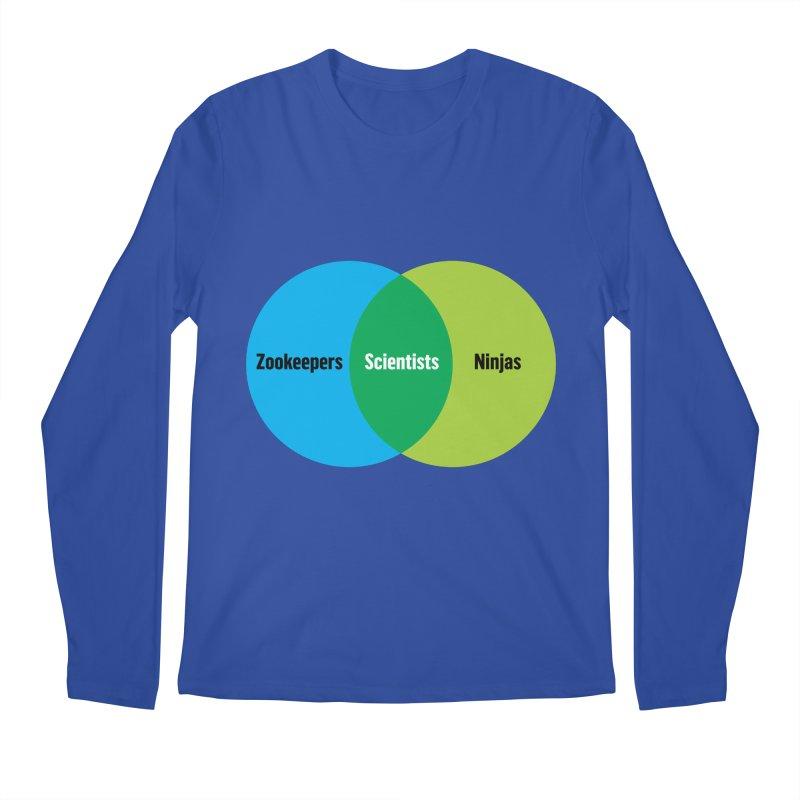 Sweet Spot Men's Longsleeve T-Shirt by mckibillo's Artist Shop