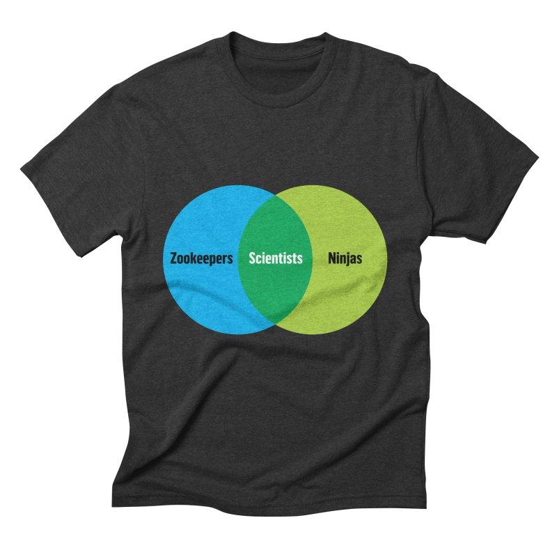 Sweet Spot Men's Triblend T-Shirt by mckibillo's Artist Shop